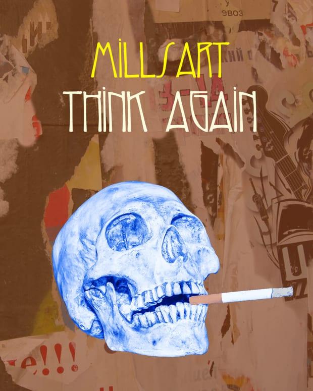 MIllsart Think Again Artwork