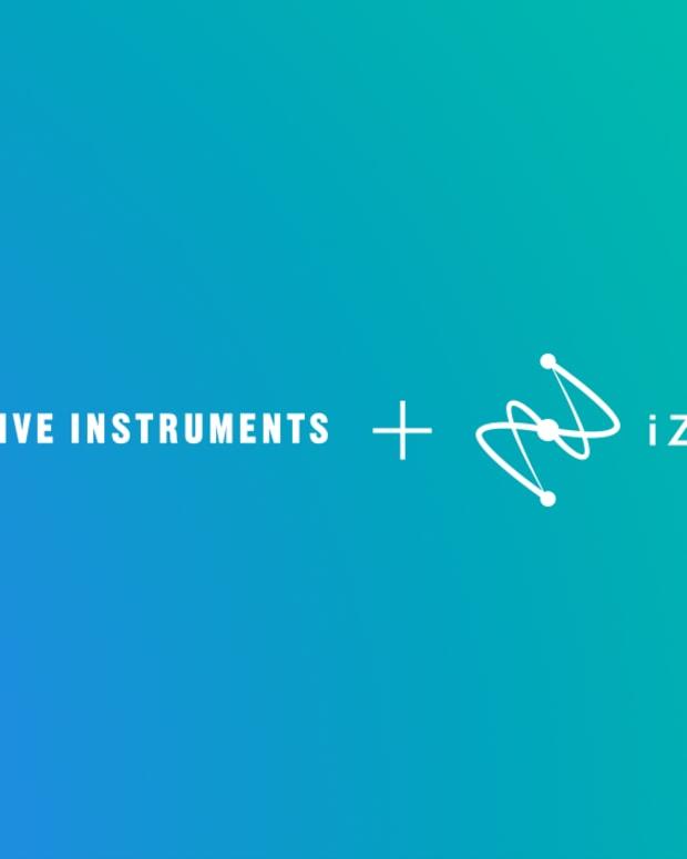 Native Instruments & iZotope Logos