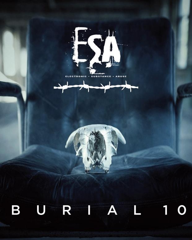 ESA Burial 10 Album Art