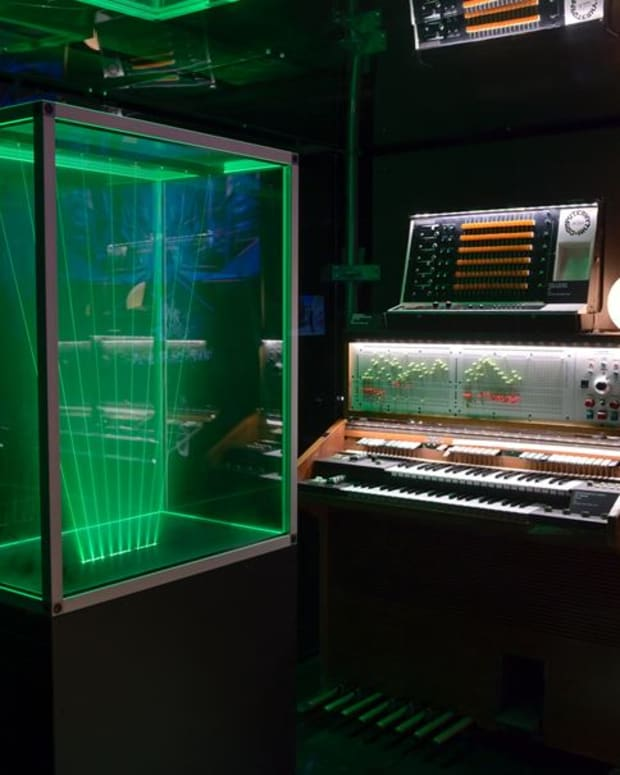 Jean-Michel Jarre Recreated Studio