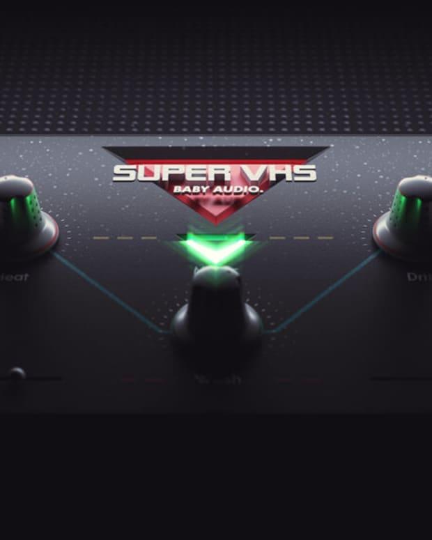 BABY+Audio+Super+VHS+lofi+plugin+3D+Render