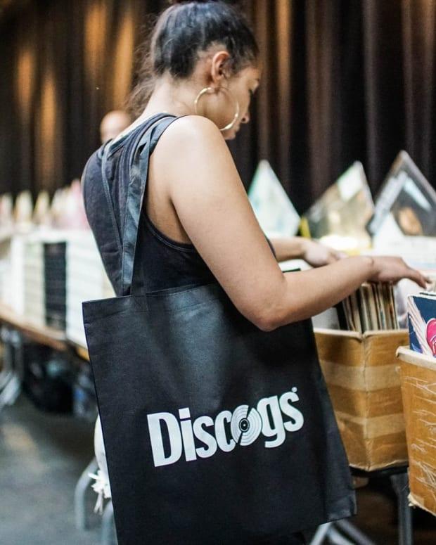 Discogs Bag Vinyl