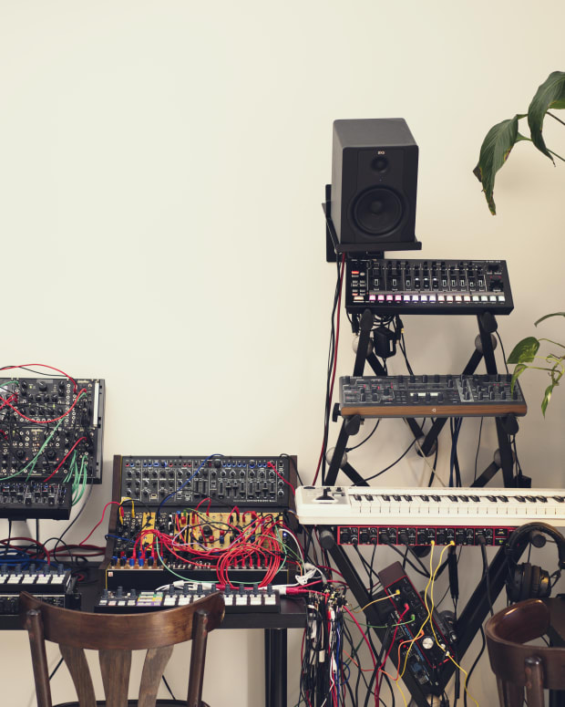 Julia Bondar Studio Gear Synths, Modular