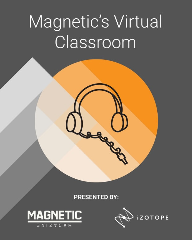 Magnetic Virtual Classroom iZotope