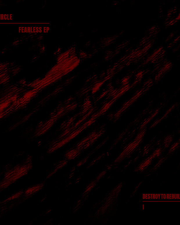 DTR001 ARTWORK VII Circle - Fearless EP - Destroy To Rebuild