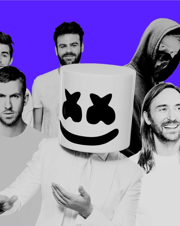 Viberate Top 100 Electronic Artists Cover Photo