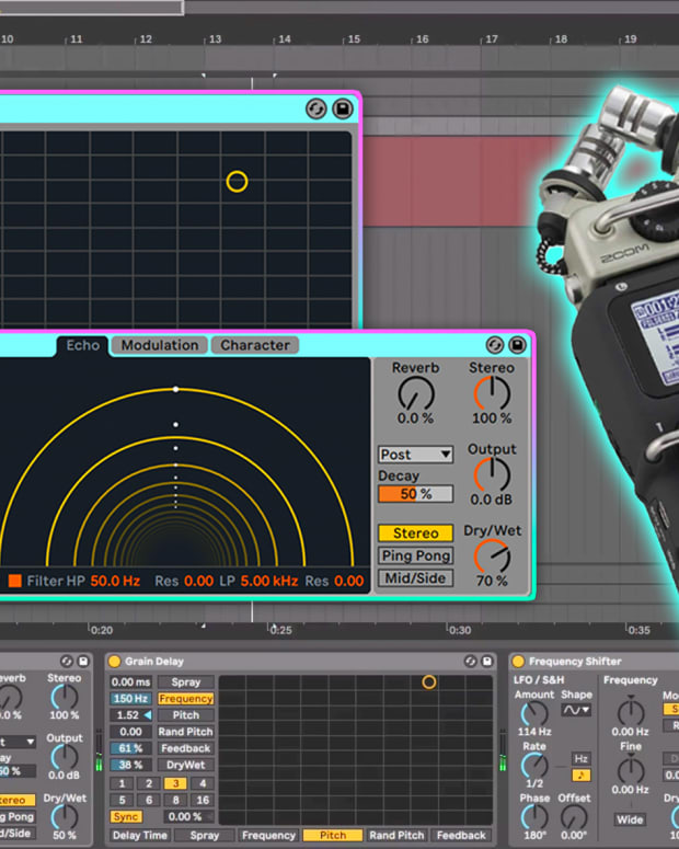 Point Blank Organic Percussion Ableton Live Techtorial