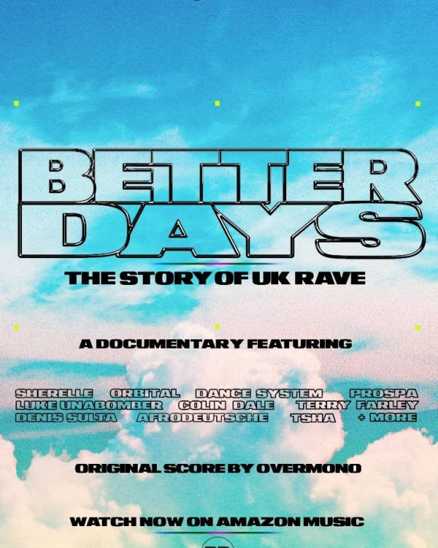 Better Days: The Story of UK Rave Poster
