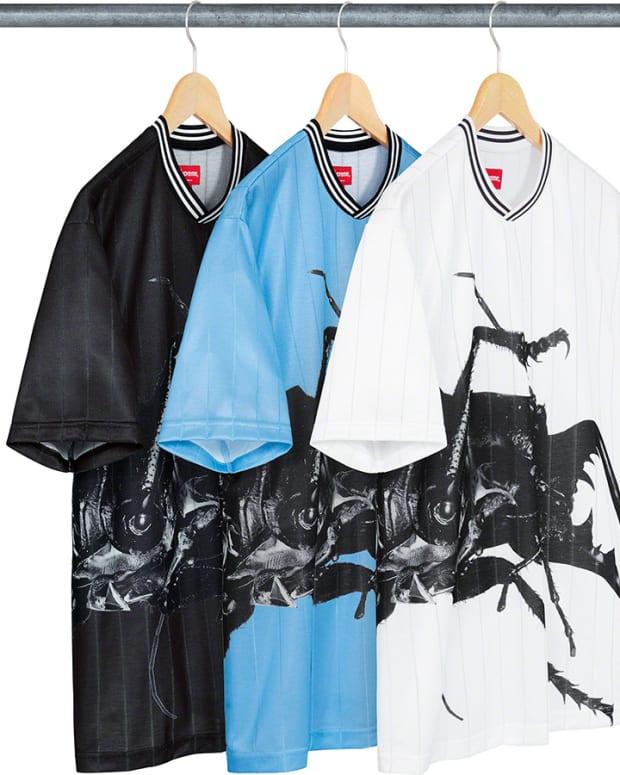Supreme Massive Attack Mezzanine Clothing Soccer Jersey