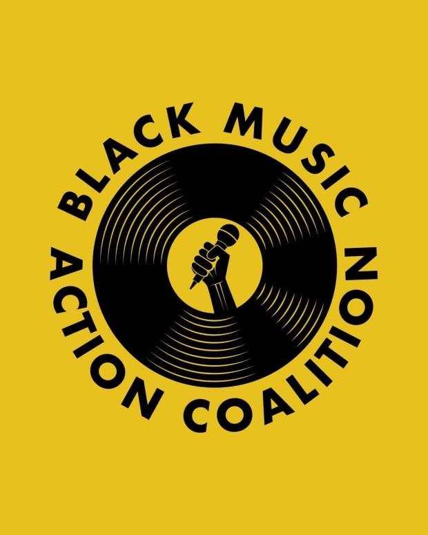 Black Music Action Coalition Logo
