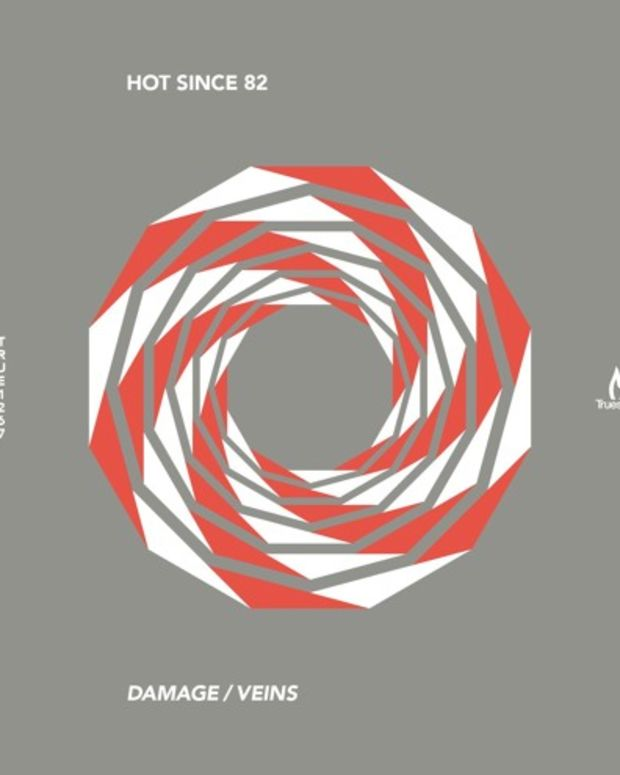 Hot Since 82 Veins/Damages Cover Art