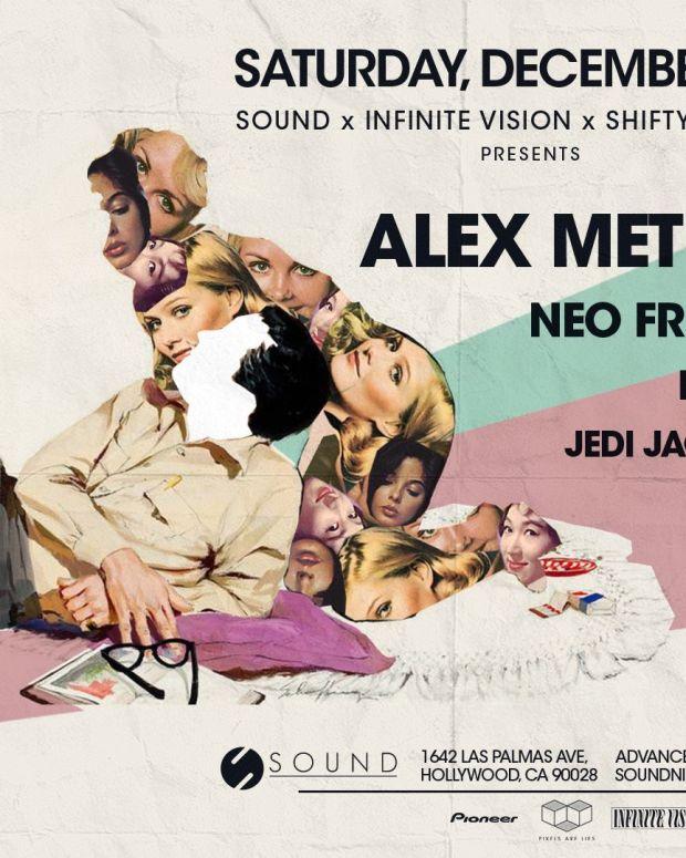 Alex Metric At Sound