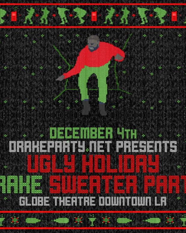 Drake Party - Holiday Drake Sweater Party
