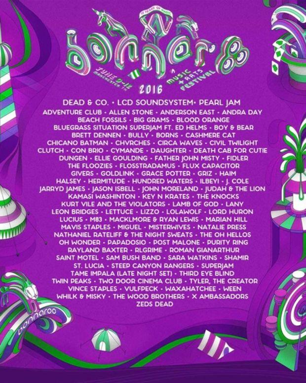 Bonnaroo leaked lineup