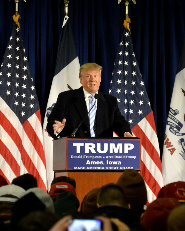 Donald Trump (photo by Alex Hanson)