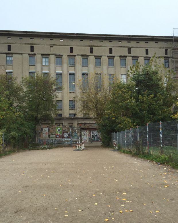 Berghain Berlin Nightclub Outside