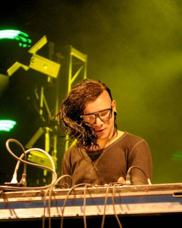 Skrillex Performance