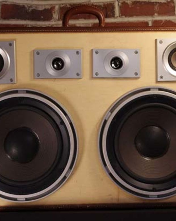 Case Of Bass Turns Old Suitcases Into Fully Functioning Boombox