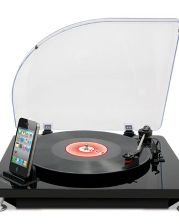 Xmas Want: iLP Digital Conversion Turntable for iPad, iPhone and iPod touch