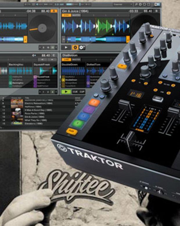 Watch DJ Shiftee Work Traktor Kontrol Z2 Like He Owns It