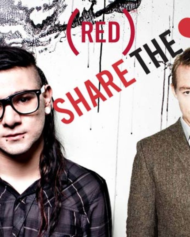 """Charity Ticket Auction: Skrillex, Diplo, Kaskade, Nero and Tommy Trash To Play """"Dance (Red), Save Lives"""" Pre-Grammy Party This Friday"""