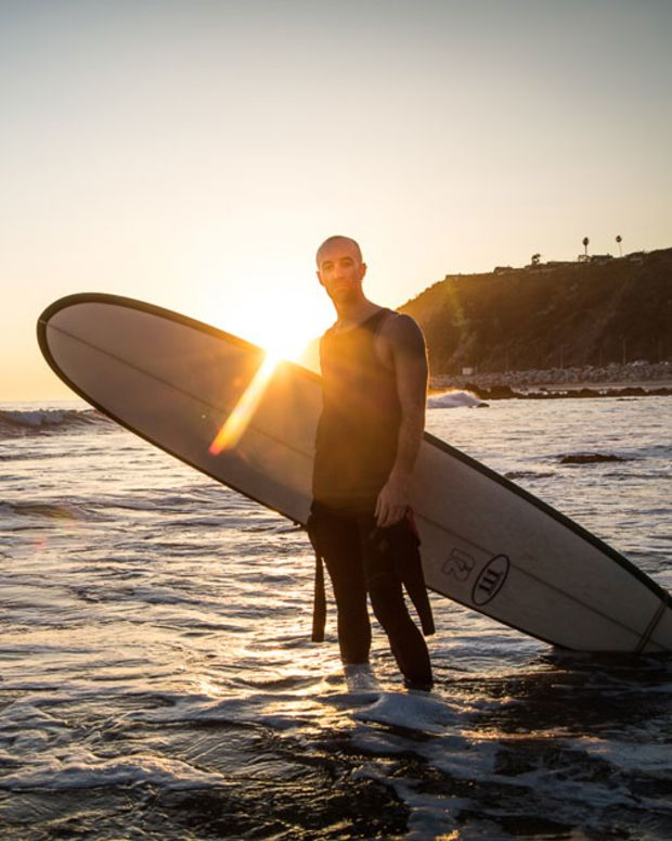 Watch: Six Minutes with Bass Kleph On A California Beach