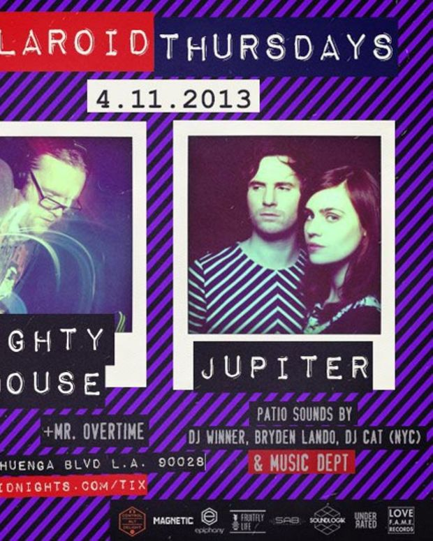 Ticket Contest: Polaroid Thursdays with Mighty Mouse & Jupiter