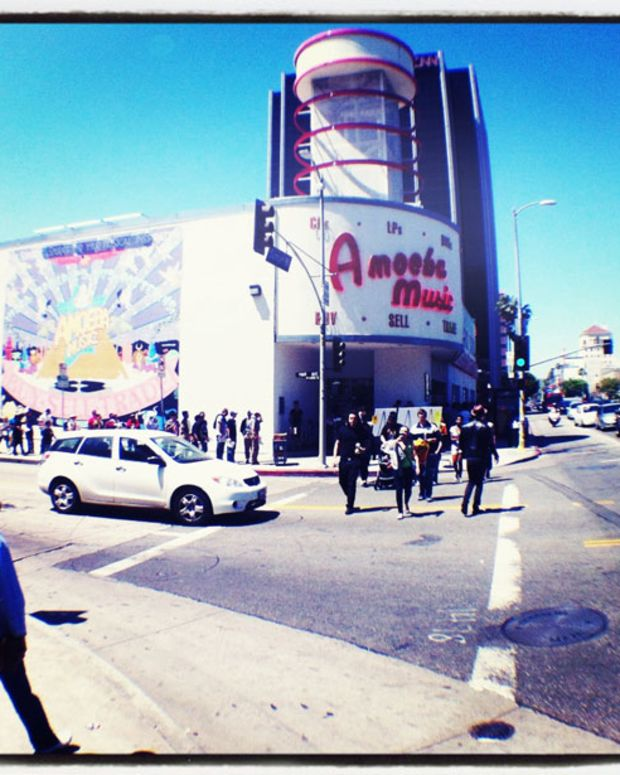 Watch: Record Store Day 2013—Amoeba Records Hollywood