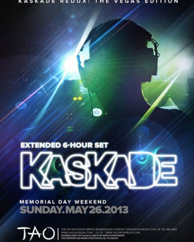 TAO Las Vegas To Host Kaskade 6-Hour #Redux Tour Set—It's Going To Be Intimate. It's Going To Be Deep