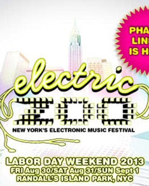 Electric Zoo Phase 2 Artist Headliners Announced