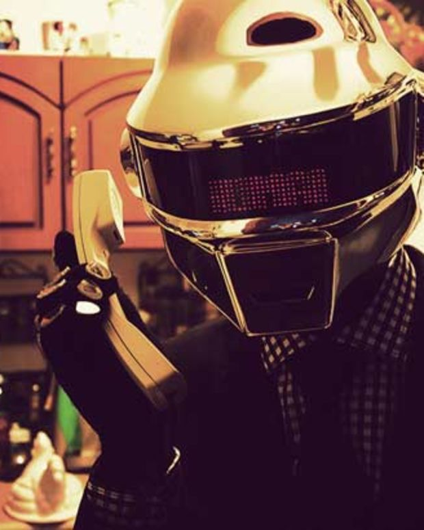 EDM Fashion: A Daft Punk Helmet Of Your Very Own
