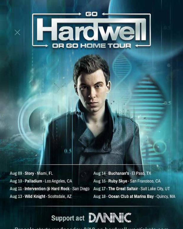 EDM News: Hardwell Announces US Tour