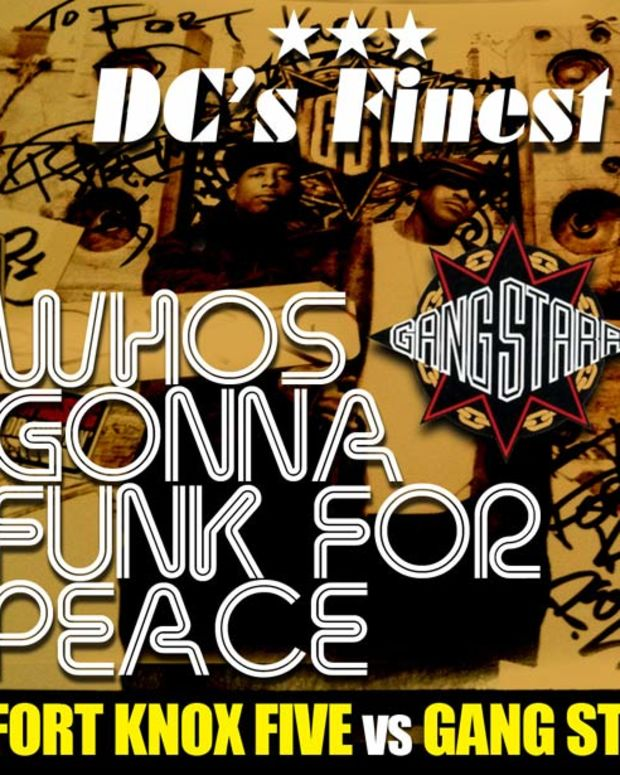 EDM Download: Fort Knox Five vs. Gang Starr Bootleg Mix - File Under Funky Breakbeat