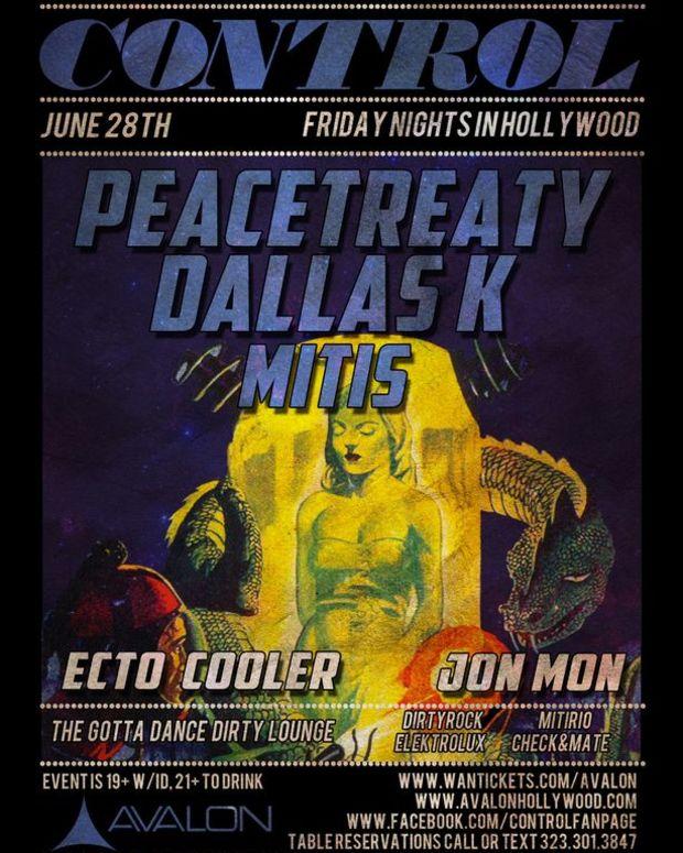 Fridays @ Avalon- 6/28 PeaceTreaty, DallaxK, MiTis Set To Play; Free PeaceTreaty Download