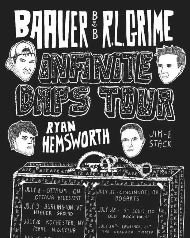 EDM News: Baauer And R.L. Grime Team Up For The Infinite Daps Tour