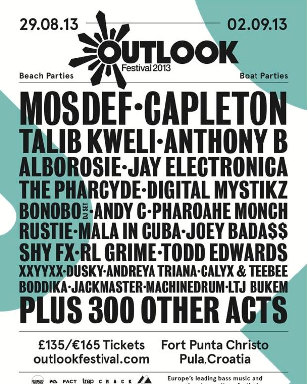 EDM Event: Andy C, Goldie, RL Grime, Jay Electronia, And MosDef Set To Perfom At Outlook Festival In Croatia
