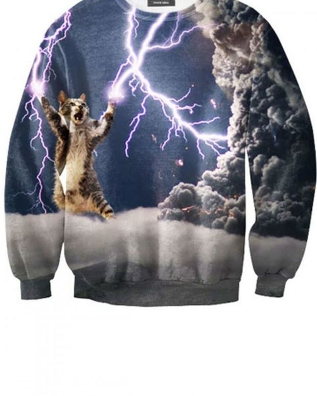 EDM Culture: Find Your Power Animal With These Fall Sweatshirt Looks From Mr. Gugu And Let's Rage