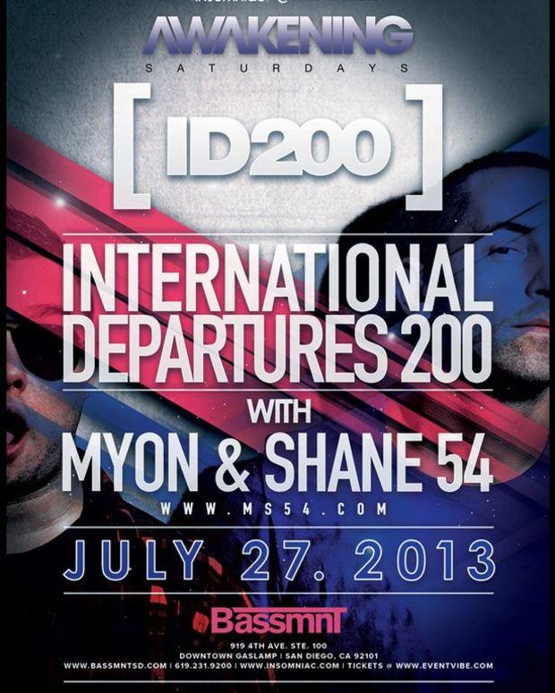 EDM Events: San Diego - Adam F, TJR, Myon & Shane 54, EC Twins & San Diego's LOUDEST Secret In EDM Culture