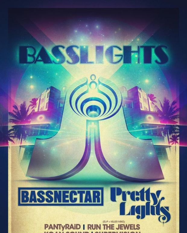 EDM News: Bassnectar And Pretty Lights Team Up In Miami For Two Shows; File Under BassLights