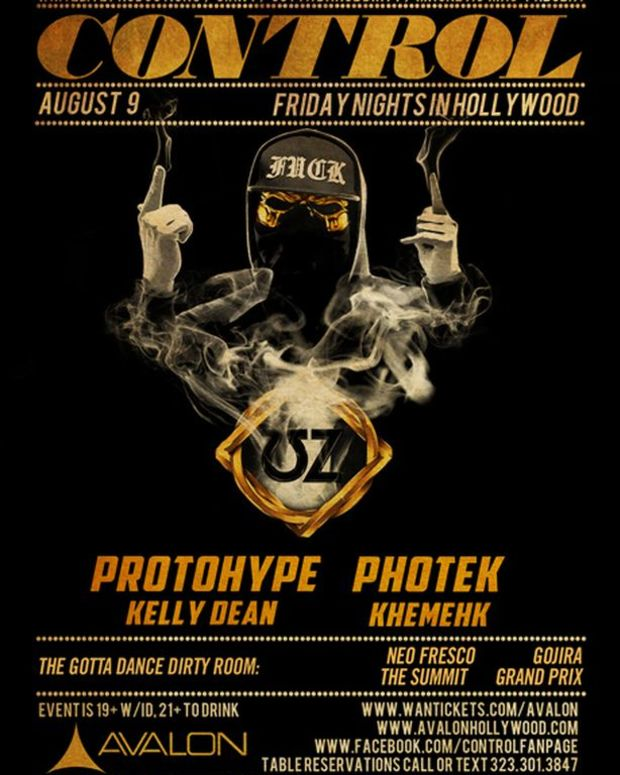 EDM Culture: Control LA Tonight With ƱZ, Protohype, Photek, Kelly Dean And Khemek