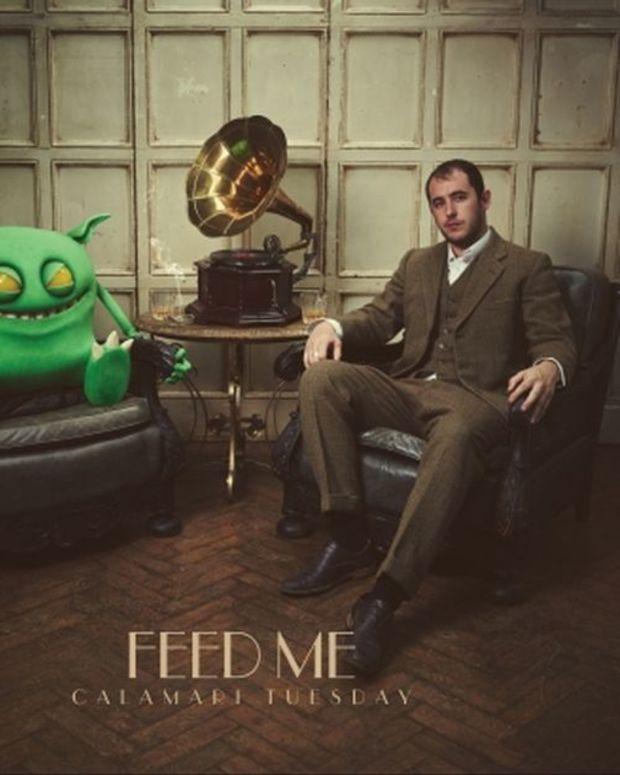 EDM News: Feed Me Announces Debut Album 'Calamari Tuesday' & New Label: Sotto Voce