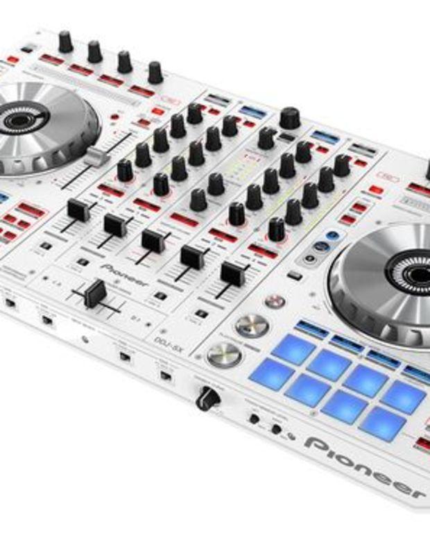 EDM Culture: DJ Gear- Pioneer Release DDJ-SX In White Colorway