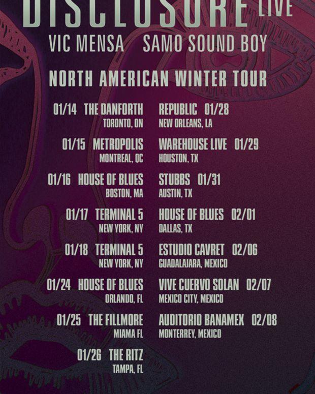EDM News: Disclosure Announces Winter 2014 North American Tour