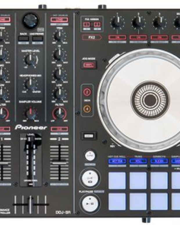 EDM News: Serato And Pioneer Announce The DDJ-SR, A Serato DJ Specific Two Deck Controller