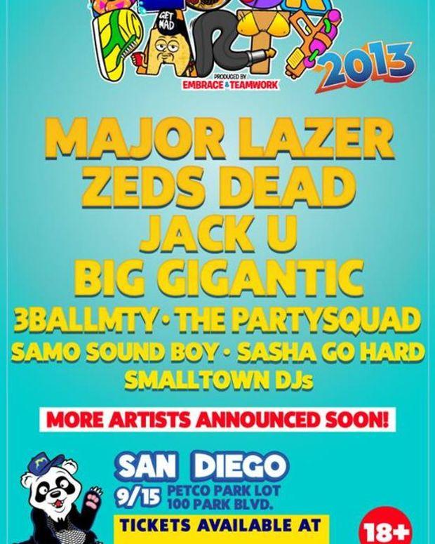 EDM Culture: San Diego Events 9/12 - 9/15 with Krewella, Seven Lions, Morgan Page, Project 46, Major Lazer, Zeds Dead, Dillon Francis + More!