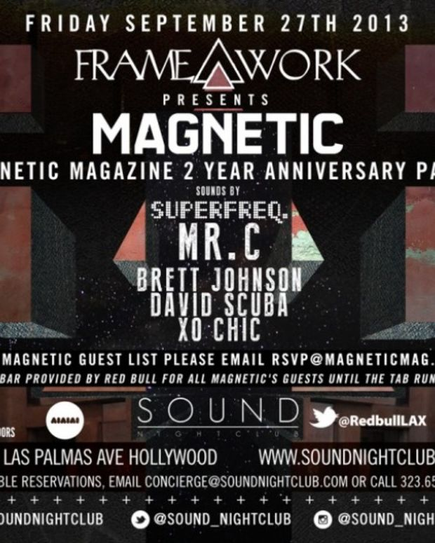 EDM Culture: Los Angeles This Weekend With Magnetic's Two Year Anniversary Party, Mano Le Tough, Cosmic Dan, Waze & Odyssey, Sleazemore, Them Jeans & More