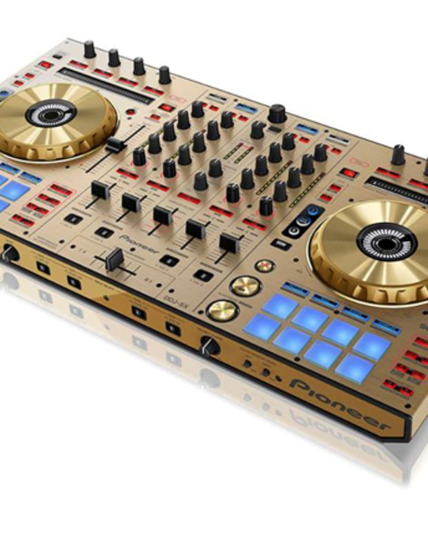 EDM News: Pioneer Announces DDJ-SX-N In Limited Edition Gold Colorway