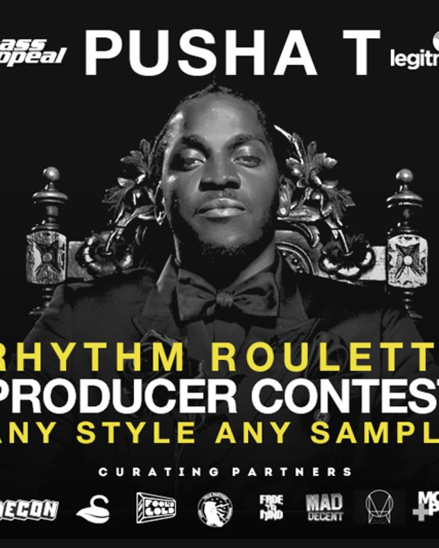 EDM News: Pusha T And Mass Appeal Launch A Remix Contest Powered By Legit Mix
