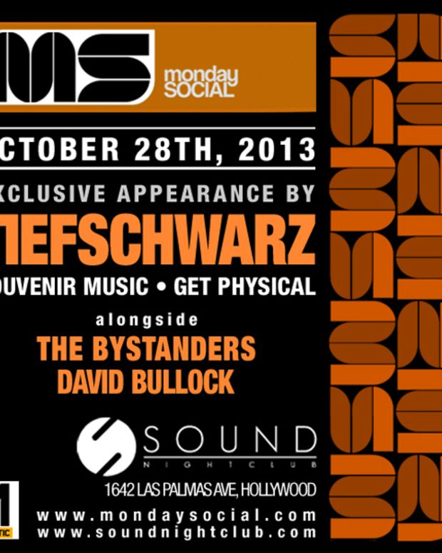 Monday Social Tonight In Hollywood With Tiefschwarz, The Bystanders & David Bullock - EDM Culture - EDM News