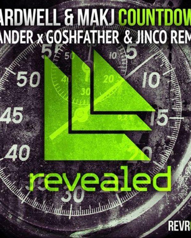 Countdown - Hardwell & MakJ (Slander x Goshfather & Jinco Remix) - EDM Download